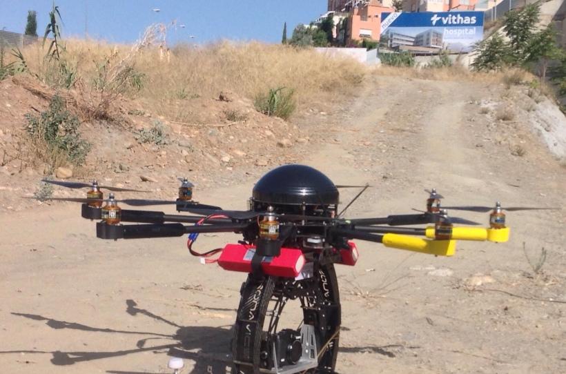 FOTO DRON HOSPITAL VITHAS GRANADA