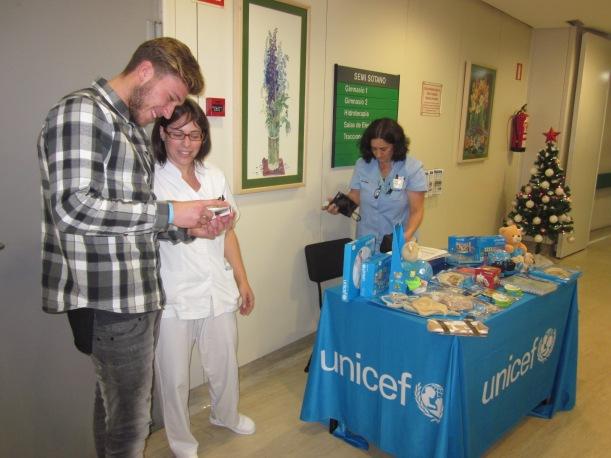 Rubén Blanco visita el Hospital Vithas Nuestra Señora de Fátima