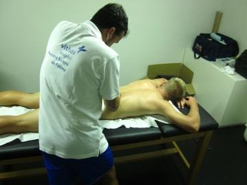 Atendiendo una lesión lumbar