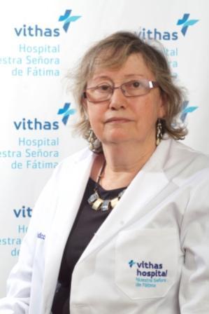 Doctora Maria Luisa Fernández, Hospital Vithas Fátima