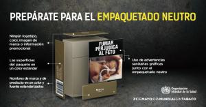 Día Mundial Sin Tabaco OMS