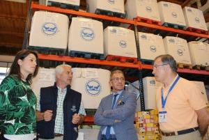 20160627 Vithas Galicia visita Banco de Alimentos A